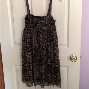 ☘️Short sleeveless dress